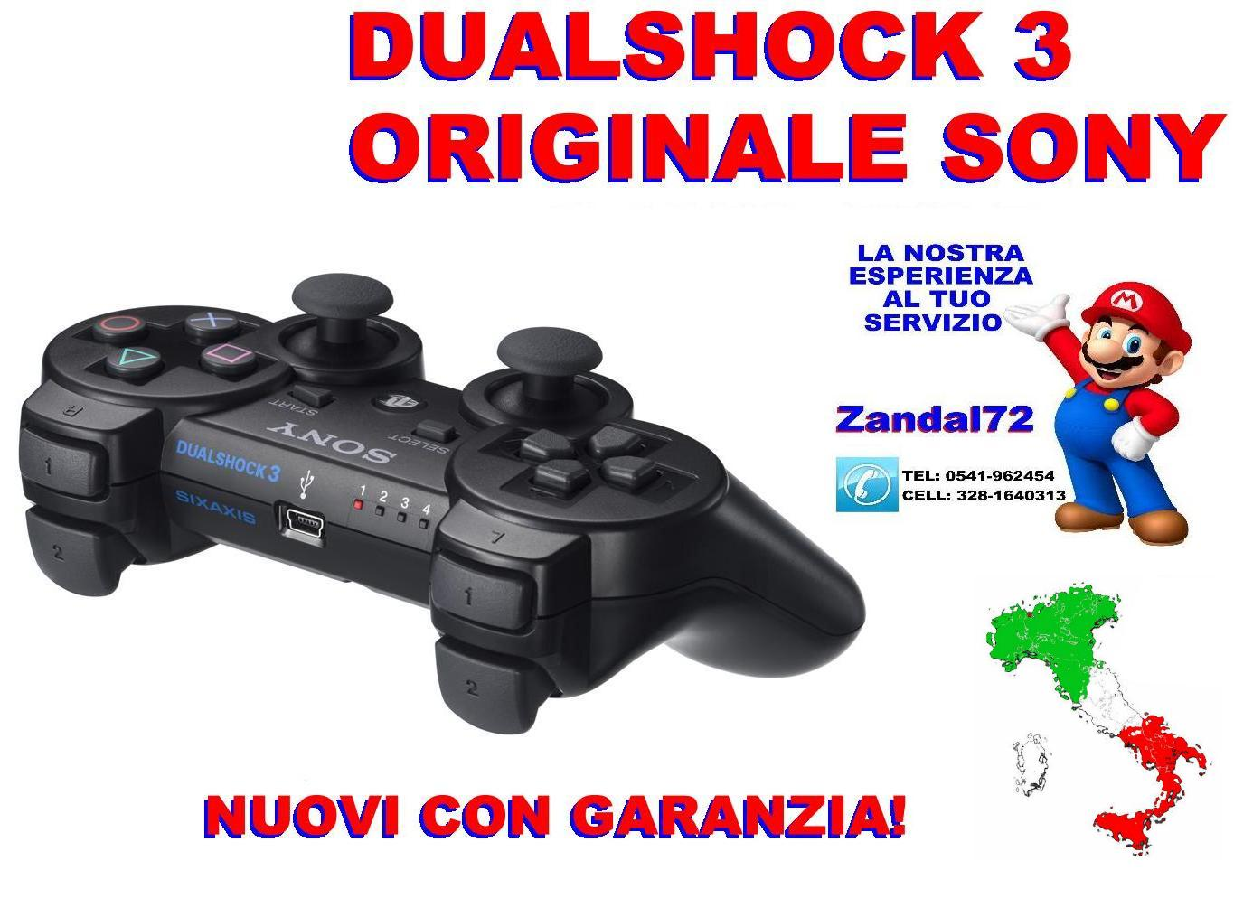 controller sixaxis dualshock 3 sony original ps3 schwarz. Black Bedroom Furniture Sets. Home Design Ideas
